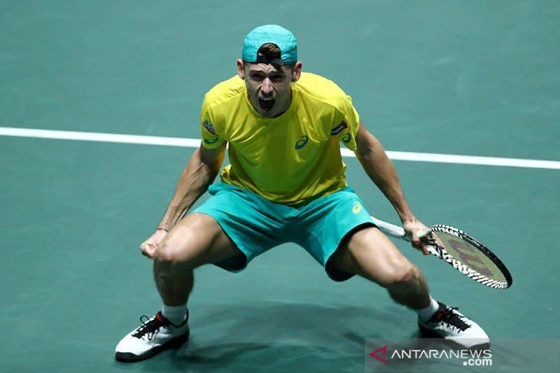 De Minaur tinggalkan Australia Open lantaran cedera perut