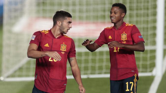 Hasil UEFA Nations League: Spanyol Pesta Gol, Jerman Tertahan