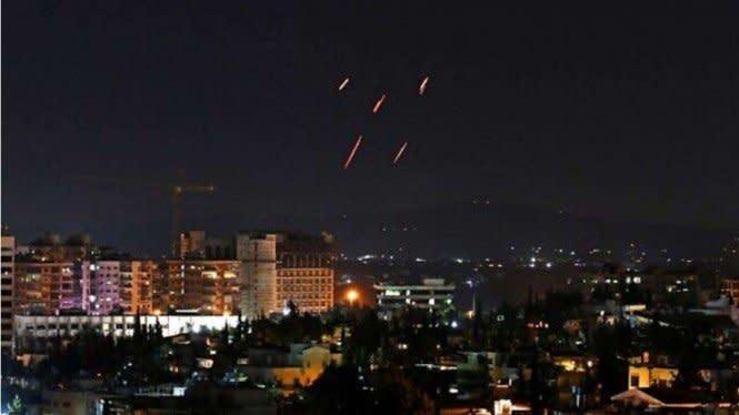 Israel Serang Suriah, Kota Allepo Digempur Rudal