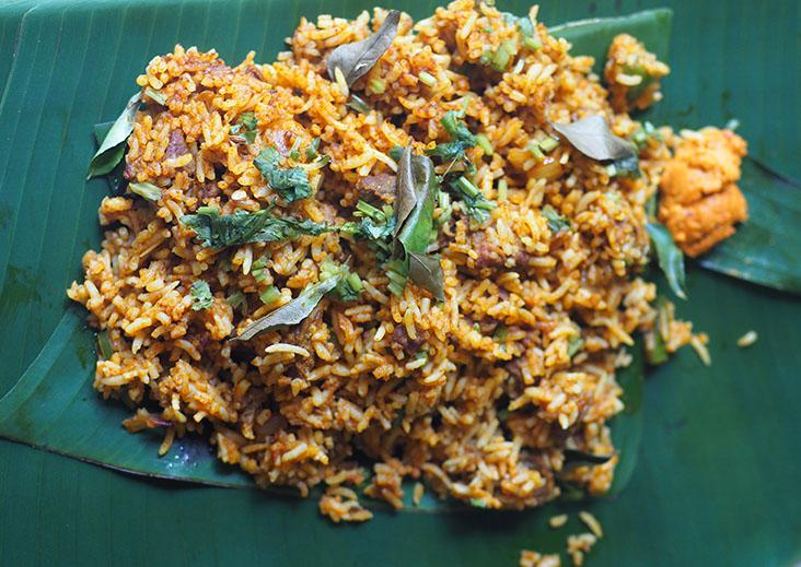 Their 'satti sorru' or curry mixed with rice has a home cooked taste and fork tender mutton pieces.