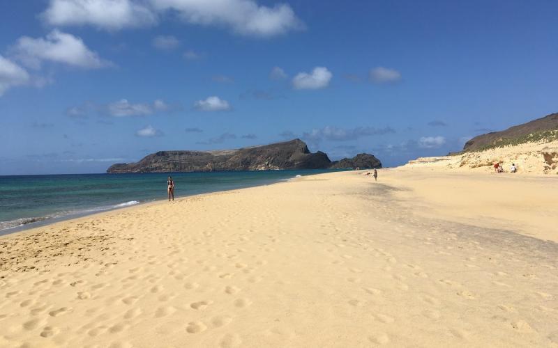 beach on Porto Santo