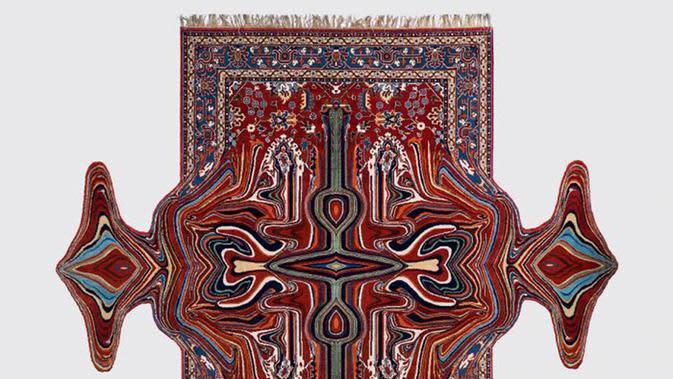 Faig Ahmed ciptakan karpet dengan bentuk unik. Sumber: Faig Ahmed