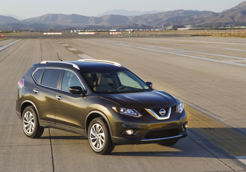 This photo provided by Nissan shows the 2014 Nissan Rogue, a compact crossover that combines a smooth ride with a spacious interior and cargo capacity. (Courtesy of Nissan North America via AP)