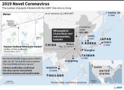 China hentikan transportasi dari pusat virus Wuhan, WHO tunda keputusan