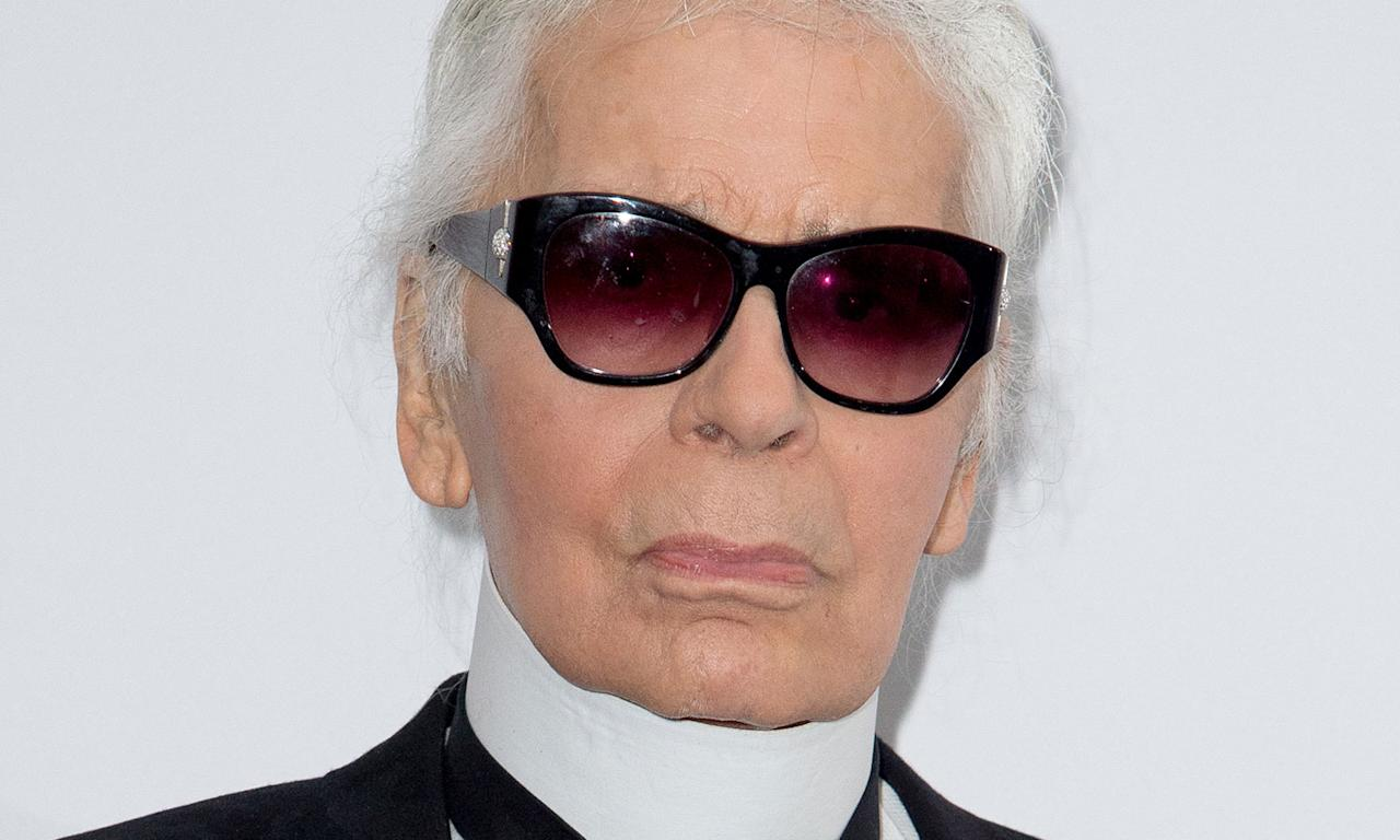 Chanel's creative director Karl Lagerfeld died from complications of pancreatic cancer on 19 February. He had held the position at the prestigious fashion house from 1983 until his death at the age of 85. (Photo by Thierry Orban/WireImage)