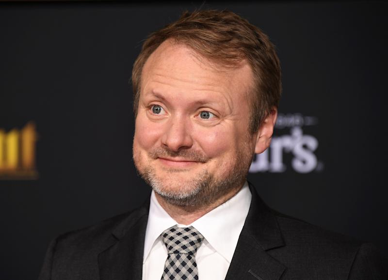 """Director Rian Johnson attends the premiere of """"Knives Out"""" in Los Angeles, California, U.S. November 14, 2019. REUTERS/Phil McCarten"""