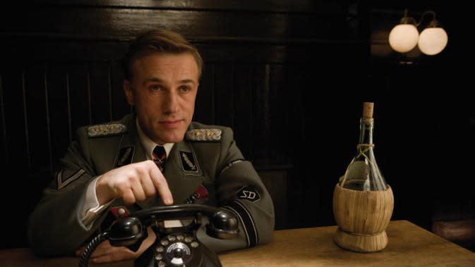Christoph Waltz sebagai Kolonel Hans Landa. (Foto: Dok. IMDb/ Universal Pictures)