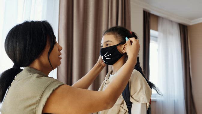 ilustrasi masker wajah untuk anak-anak | pexels.com/@august-de-richelieu