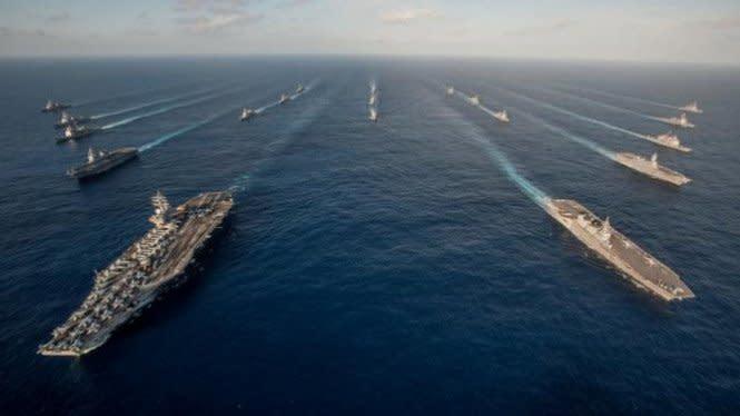 Pentagon Dukung Vietnam Kecam Latihan Militer China di Laut Selatan