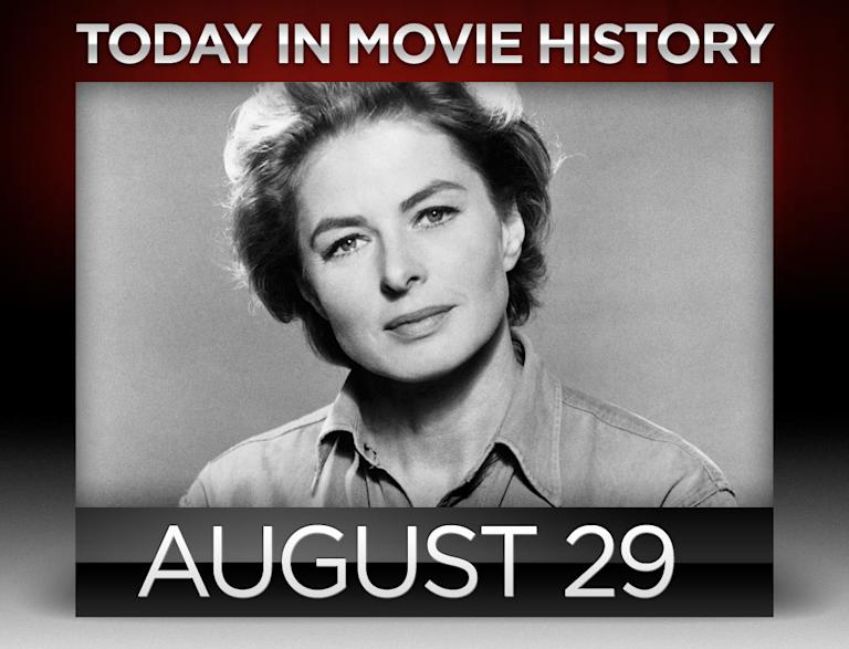 today in movie history, august 29