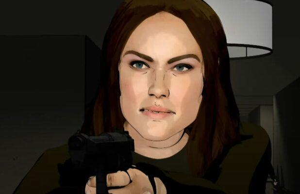 Here's How 'The Blacklist' Finale Looks With Half Live-Action, Half Graphic Novel Animation (Video)