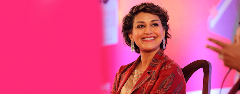 Actor Sonali Bendre shows how not to let Cancer dim the sunshine in our lives and tackle it head on.