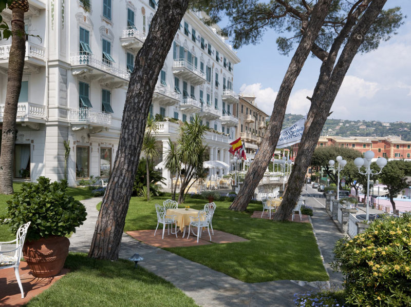 The iconic building was built in 1903, making it one of the original grand hotels of the Riviera.