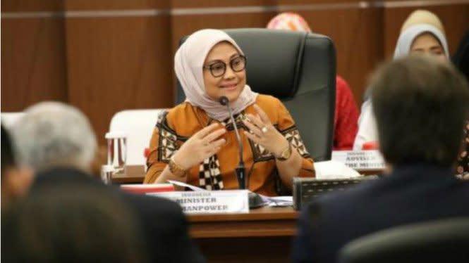 Subsidi Gaji Rp600 Ribu ke Pekerja Salah Cair, Menteri Ida: Kembalikan