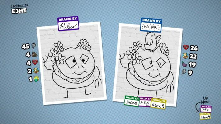 Civil Doodle is a drawing game on Jackbox