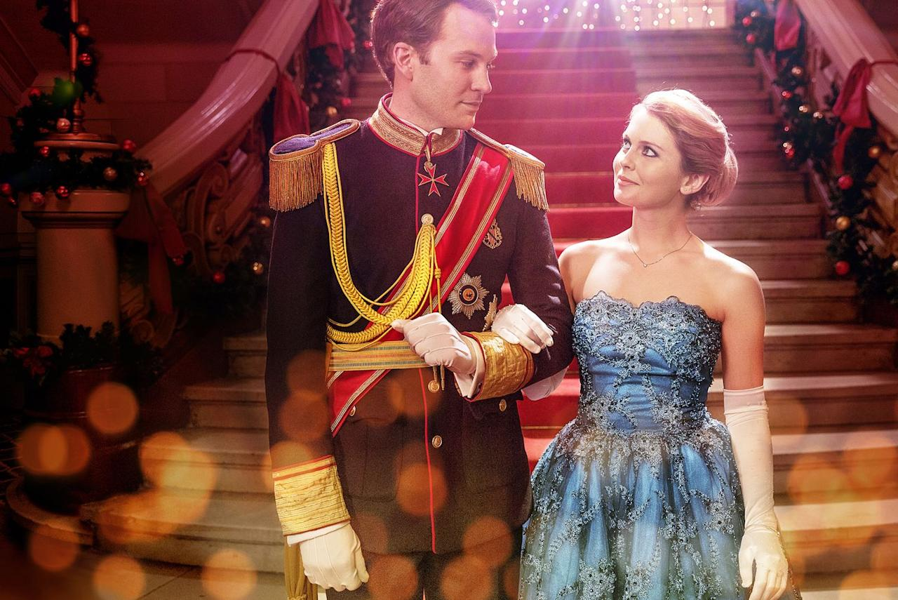 <p>American journalist Amber (Rose McIver) travels to the fictional country of Aldovia to write about Prince Richard (Ben Lamb), who's said to be abdicating the throne. But when the palace mistakes Amber for Richard's younger sister's tutor, she learns that the careless playboy reputation he has isn't exactly accurate. And if you too don't want to leave Aldovia, you can move right on to the sequels: <em>A Christmas Prince: A Royal Wedding</em> and <em>A Christmas Prince: The Royal Baby</em>.</p>