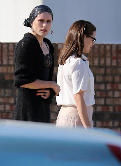 Spotted on Set, Jared Leto and Jennifer Garner