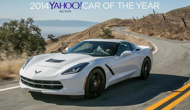 The 2014 Yahoo Autos Car of the Year: Chevrolet Corvette Stingray