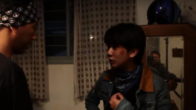 Potret Behind The Scene Milea: Suara dari Dilan (Sumber: YouTube Falcon Music Indonesia)