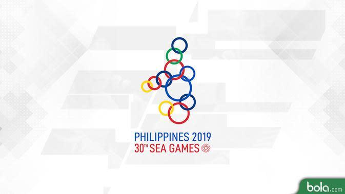 Logo SEA Games 2019. (Bola.com/Dody Iryawan)