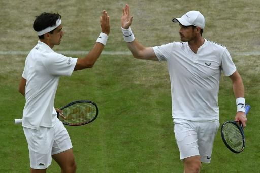 Murray's doubles match put on No. 1 Court