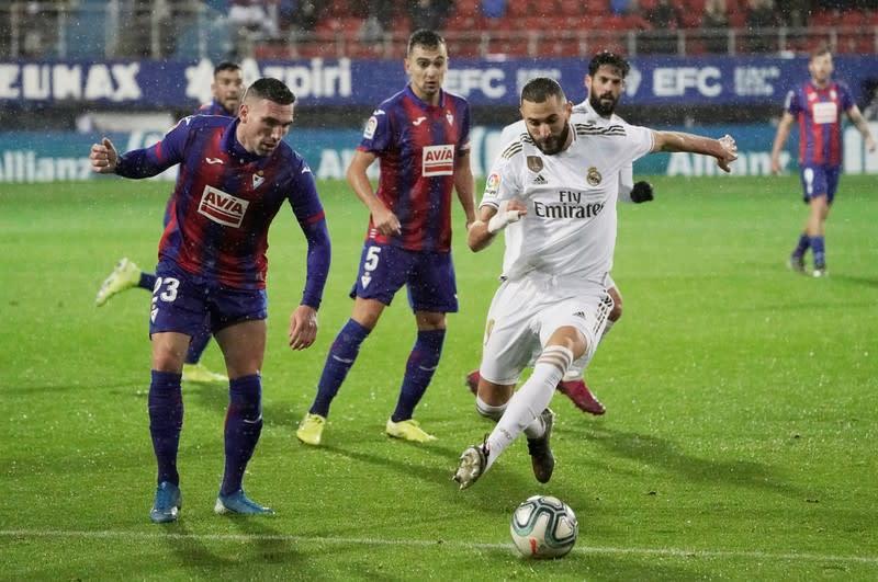 La Liga Santander - Eibar v Real Madrid
