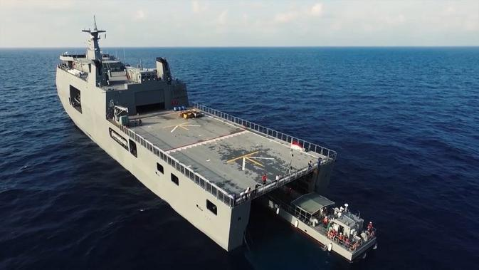 Kapal jenis Strategic Sealift Vessel (SSV) produksi PT PAL (Persero) (dok: PT PAL)