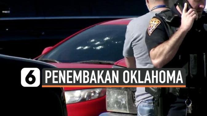 VIDEO: Penembakan Maut di Oklahoma, Tiga Tewas