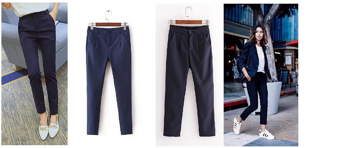 熱銷款 OL高級西裝休閒長褲