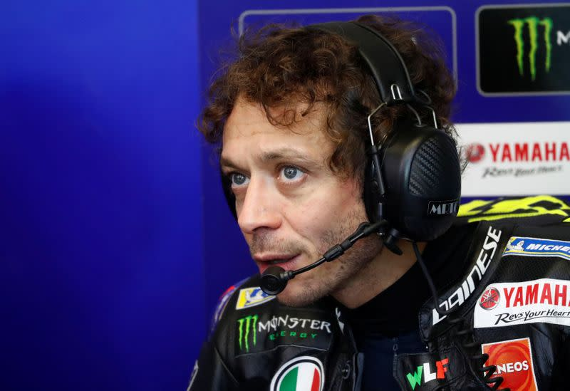 Rossi tests positive for COVID-19, to miss Aragon MotoGP