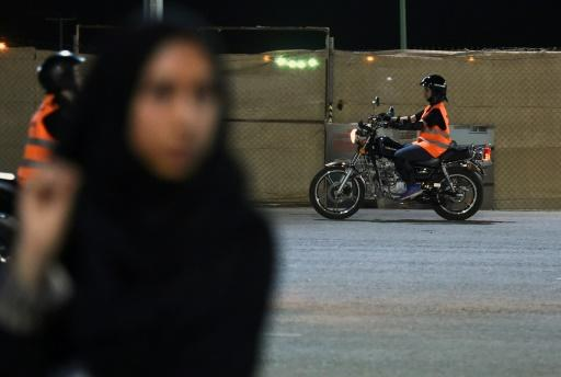 Saudi women have been gathering weekly at the Bikers Skills Institute, a sports circuit in Riyadh, to learn how to ride motorbikes