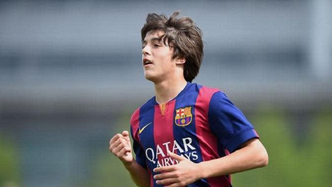 Pablo Moreno merupakan satu di antara pemain La Masia yang diinginkan Pep Guardiola. (doc. Metro)