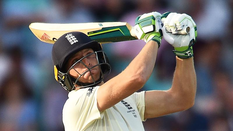 Jos Buttler came to England's rescue late on day one.