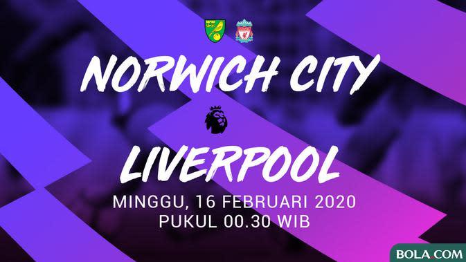 Premier League - Norwich City Vs Liverpool (Bola.com/Adreanus Titus)