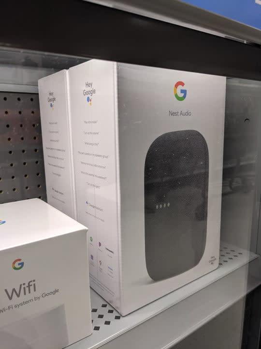 walmart accidentally leaks google nest audio speaker leak 2