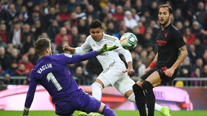 Casemiro Ogah Jemawa Usai Borong 2 Gol Real Madrid Lawan Sevilla