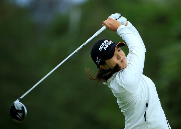 South Korean Kim grabs Women's PGA lead on birdie binge