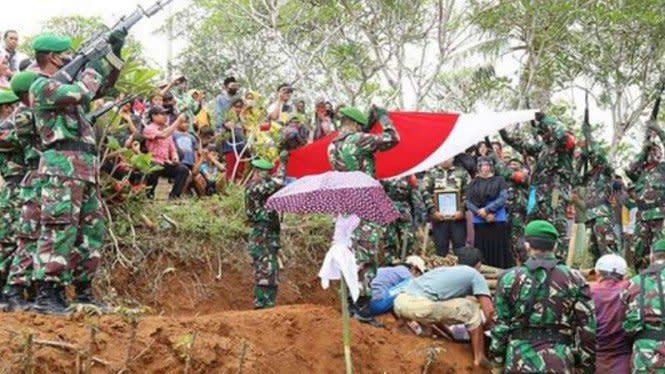 TNI Berduka, Kopral Kepala Ribut Meninggal Dunia