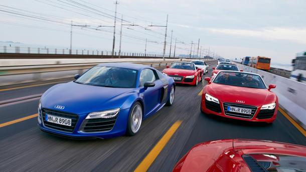 2014 Audi R8, the everyday supercar: Motoramic Drives