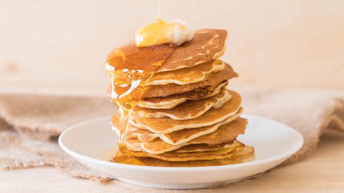 Ilustrasi Pancake. Credit: freepik.com