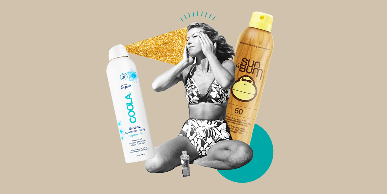 """<p>It's 2020, so I don't need to remind you that you should be wearing <a href=""""https://www.cosmopolitan.com/style-beauty/beauty/advice/g3973/best-new-sunscreens/"""" target=""""_blank"""">sunscreen</a> every single day, but I <em>do </em>understand that rubbing lotion over every inch of your body can be a little much (esp if you're lazy like me). That's why I'm high-key in love with spray-on sunscreens. <strong>They're super easy to apply, they're less messy than <a href=""""https://www.cosmopolitan.com/style-beauty/beauty/g12499653/best-body-lotion-moisturizers/"""" target=""""_blank"""">lotions</a>, and they can help you reach difficult places (like your back). </strong>And yes, you still need to wear sunscreen even if you're stuck inside (you can get sun damage from rays that come through a window) or if you're only leaving your home for short periods of time. Thankfully for you, I'm basically an expert in spray-on sunscreens, and I rounded up the 10 best bottles to keep at home, ahead. </p>"""