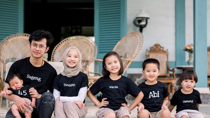 Anak-anak Zaskia Adya Mecca (Instagram/zaskiadyamecca)