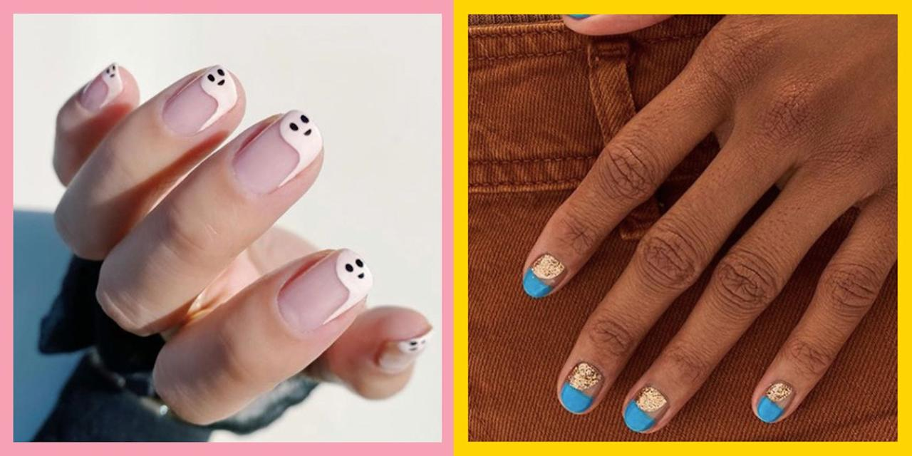 "<p>The times they are a changing, so it's time to bid your <a href=""https://www.cosmopolitan.com/uk/beauty-hair/nails/g28552605/summer-nails/"" target=""_blank"">summer nails</a> goodbye and replace them with some autumn inspired colours, designs and art from our biggest edit to date.</p><p>We've rounded up the biggest trends from Instagram for 2020, so whether you're looking for acrylics or natural, gels or polish, we've got something for everyone.</p><p>Whether that's something Halloween themed, like a bright orange to coordinate with your pumpkin picking photoshoot, or a jet black spooky nail art design. </p><p>If you're after something a little less creepy (can't relate), don't worry, we've got you covered as well. From the richest, forest green shades, to stunning matte merlots and of the course the classic Uma Thurman Pulp Fiction inspired deep burgundy.</p><p>Not to mention the nail art we've found. From tartan stripes to graphic lines and tortoiseshell print, you might not have the steady hand to recreate them at home, but at least you can take an inspiration pic the next time you book a salon appointment.</p><p>One scroll through our gallery and you'll no longer be mourning those neon shades we've spent the last few months in. </p><p>So go, grab your pumpkin spice latte and find a suitably autumn leafy background to take your first #nailfie of the season. </p><p>Don't forget to tag us @CosmopolitanUK so we can see your handy work and who knows, you might just end up in our next nail gallery...</p>"