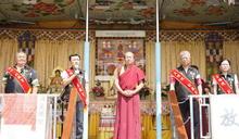 行動佛殿抵嘉義溪口 祈求國泰民安世界和平