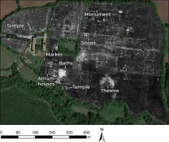 Kota Romawi yang terkubur tersingkap berkat radar penembus tanah