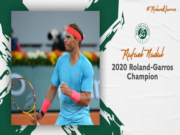 Rafael Nadal (Photo/ Roland Garros Twitter)