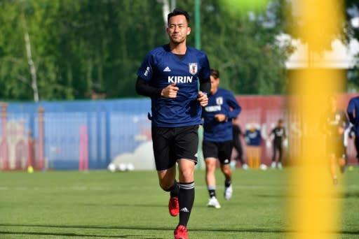 Defender Maya Yoshida plays for Southampton in the English Premier League