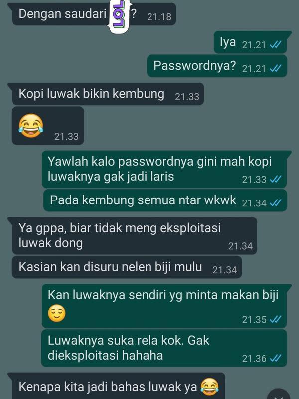 Chat PDKT (Sumber: Twitter/freeyeay)