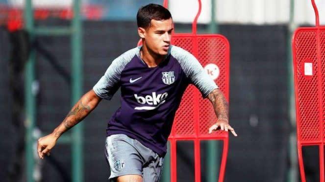Gelandang serang Barcelona, Philippe Coutinho