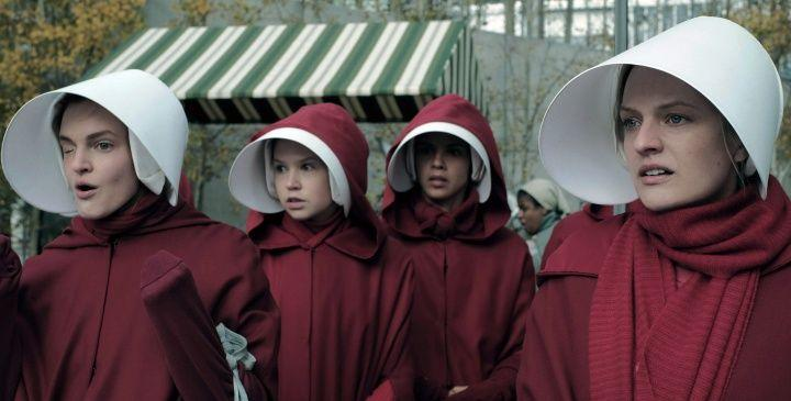 """<p>So you're all caught up on <em>The Handmaid's Tale</em>, you're anxiously <a href=""""https://www.cosmopolitan.com/entertainment/tv/a28521630/handmaids-tale-season-4-news-date-cast-spoilers/"""" target=""""_blank"""">awaiting details for season 4</a>, and you've already read Margaret Atwood's classic…approximately 1,297,493,847 times. Now you wonder: Which terrifyingly fascinating dystopian world should I escape to next? Because while, sure, these societies are filled with a lot of pain and suffering, they're also a huge distraction from the real world. And it's kind of comforting, especially right now, to read about a reality darker than our own—one with a fixed beginning, middle, and end. But regardless of your motivation, these 20 dystopian novels will make you think, make you terrified, and have you turning pages late into the night.  </p>"""